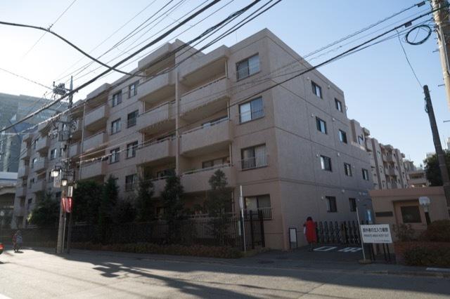 コートハウス玉川(1〜4号棟)の外観