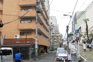 パラシオン渋谷の外観