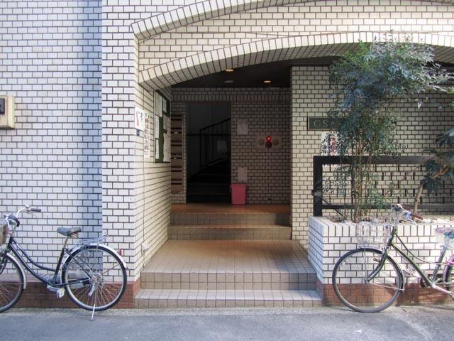 GSハイム新宿南口のエントランス