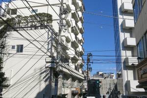 コーポ南(渋谷区)の外観