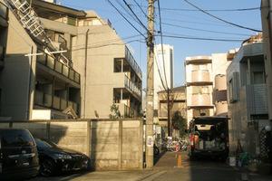 ペガサスマンション渋谷本町第1の外観