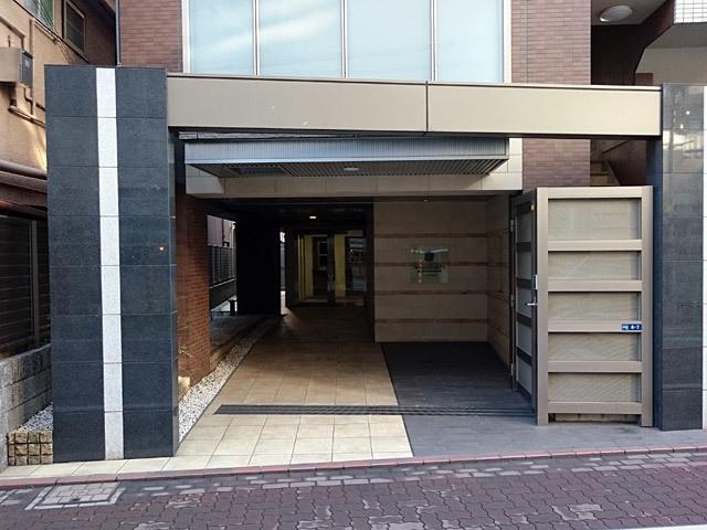 スタジオデン京急蒲田のエントランス