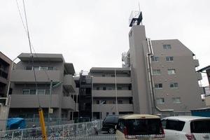 ライオンズマンション中央本町の外観