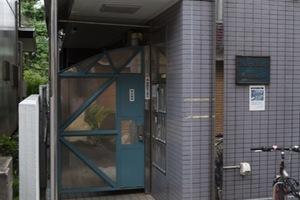 ルーブル江古田2のエントランス