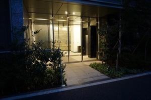コンシェリア虎ノ門のエントランス