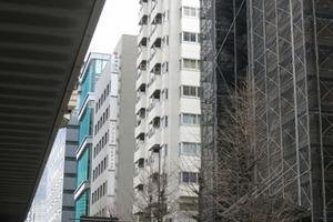 キャッスル新宿の外観