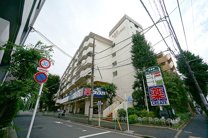 武蔵野グリーンタウン(A〜G棟)の外観