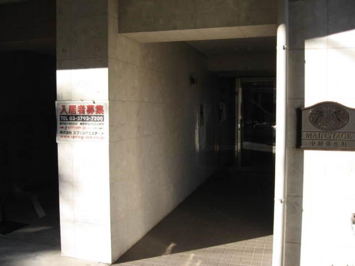 メインステージ中野弥生町のエントランス
