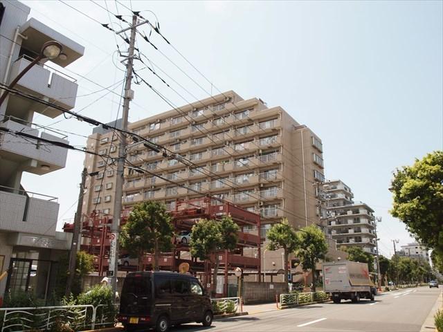 ライオンズマンション仙台堀川公園の外観