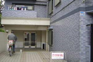 セザール大塚ガーデンのエントランス
