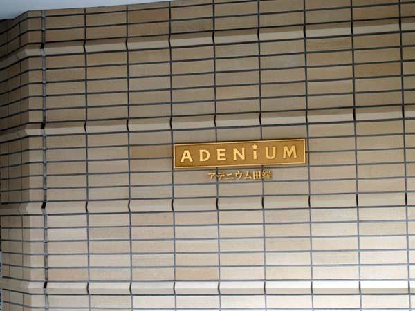 アデニウム田端の看板