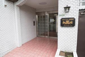 スカイコート桜新町のエントランス