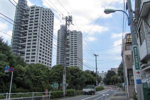 西戸山タワーホウムズの外観