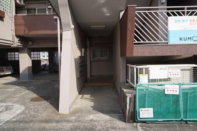 横浜ビューレジデンスのエントランス