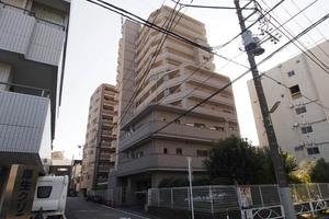 キャッスルマンション亀戸立花弐番館の外観