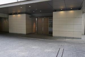 フォレセーヌ麻布永坂のエントランス