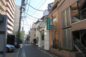 ベラコート渋谷の外観