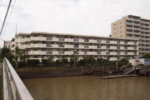 エステート猿江(1〜3号棟)の外観