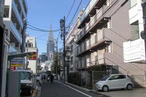スカイコート渋谷北参道の外観