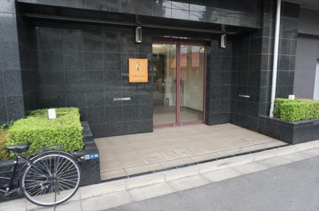 レクシオ川崎桜川公園のエントランス