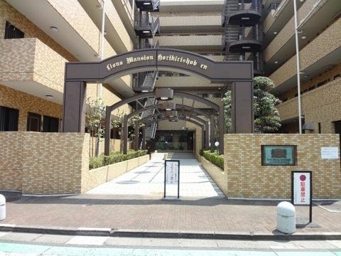 ライオンズマンション堀切菖蒲園のエントランス