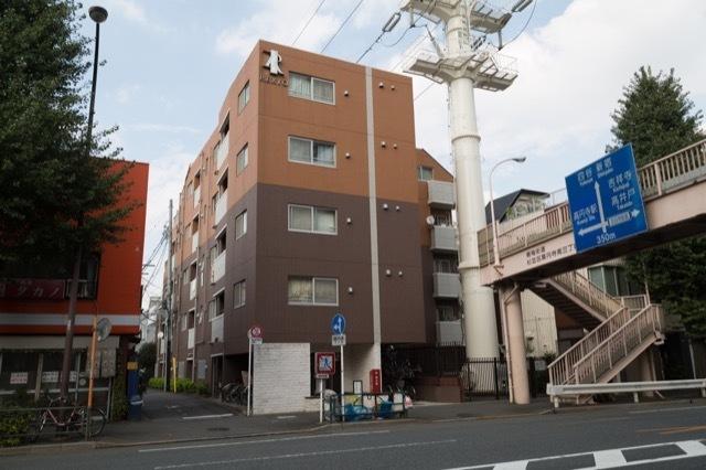レクシオシティ新高円寺の外観