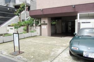 早稲田永谷マンションのエントランス