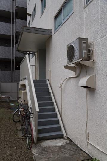 ハイホーム武蔵関(A館・B館)のエントランス