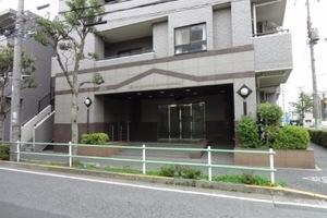 ライオンズマンション京成立石のエントランス