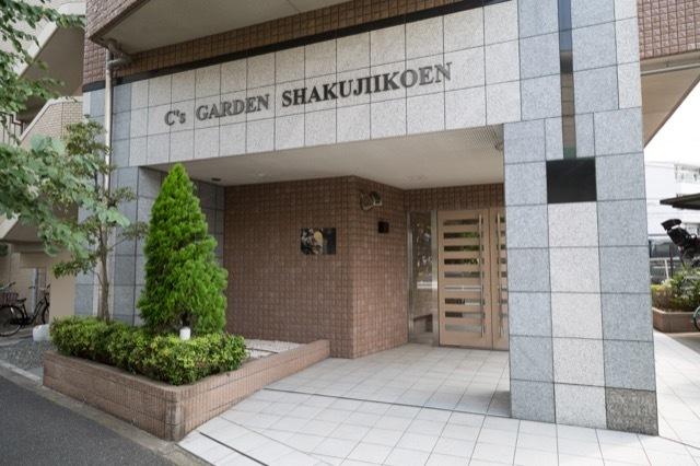 シーズガーデン石神井公園のエントランス
