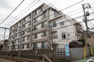 大洋江古田マンション(練馬区)の外観