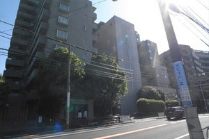 中野桃園シティハウスの外観