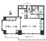 クリオ東新宿壱番館の間取り