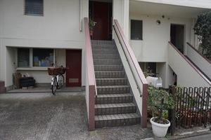東長崎タウンホームのエントランス