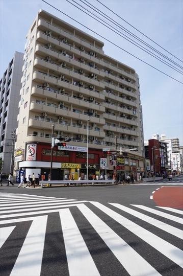 井上ビルスカイコート横浜日ノ出町の外観
