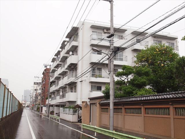 ライオンズマンション柳島(江東区)の外観