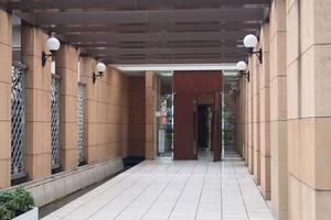 サンクタス東京セントラルベイのエントランス