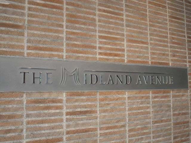 ザミッドランドアベニューの看板