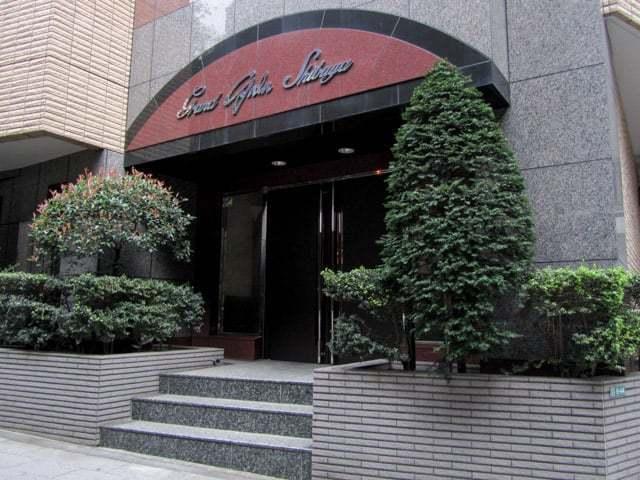 グランドガーラ渋谷のエントランス