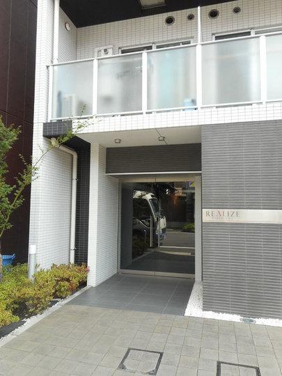 レアライズ錦糸町のエントランス