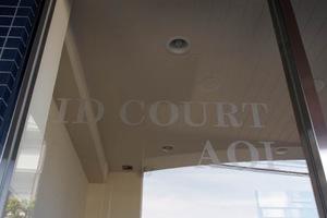 アイディコート青井の看板