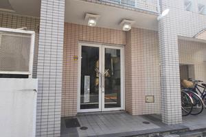 コスモ隅田アクティのエントランス