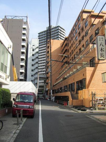 ライオンズマンション西新宿の外観