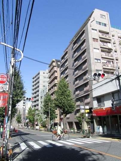 中野東豊マンションの外観
