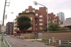 赤坂パークマンションの外観