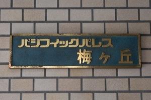 パシフィックパレス梅ヶ丘の看板