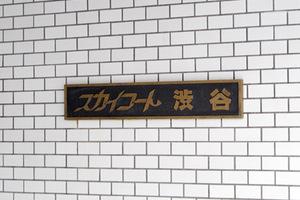 スカイコート渋谷の看板