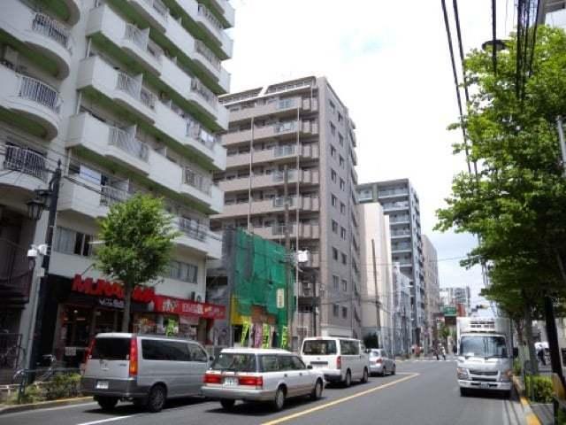 ガーデンフィール新小岩弐番館の外観