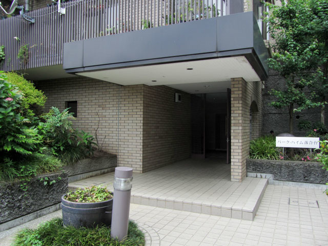 パークハイム新宿落合台のエントランス