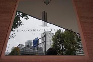 フェイバリッチタワー品川の看板
